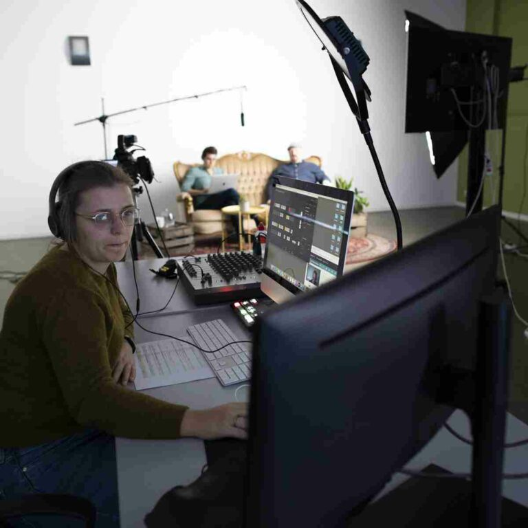 online event - webinar - inrichting studio