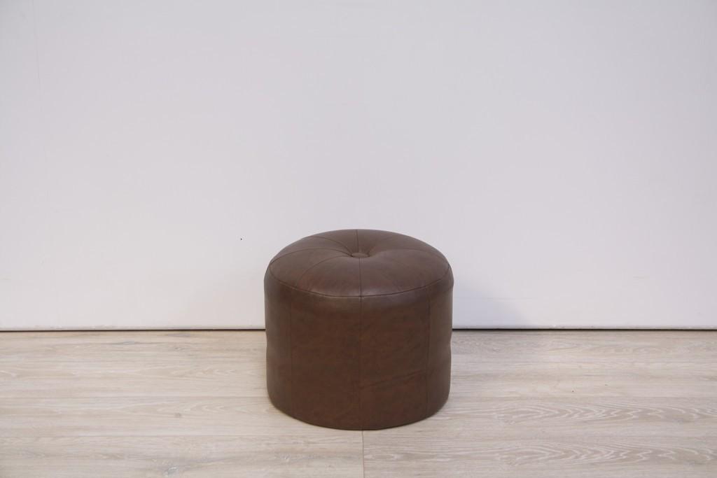 poef-rond-leder-bruin-2417