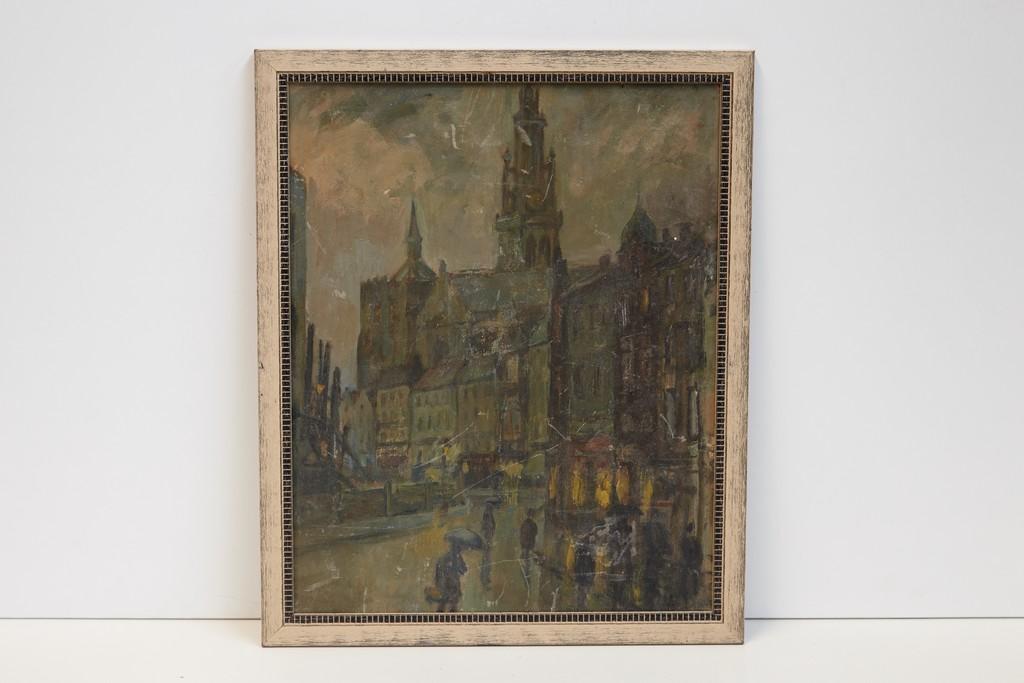 schilderij-dorpsplein-3187