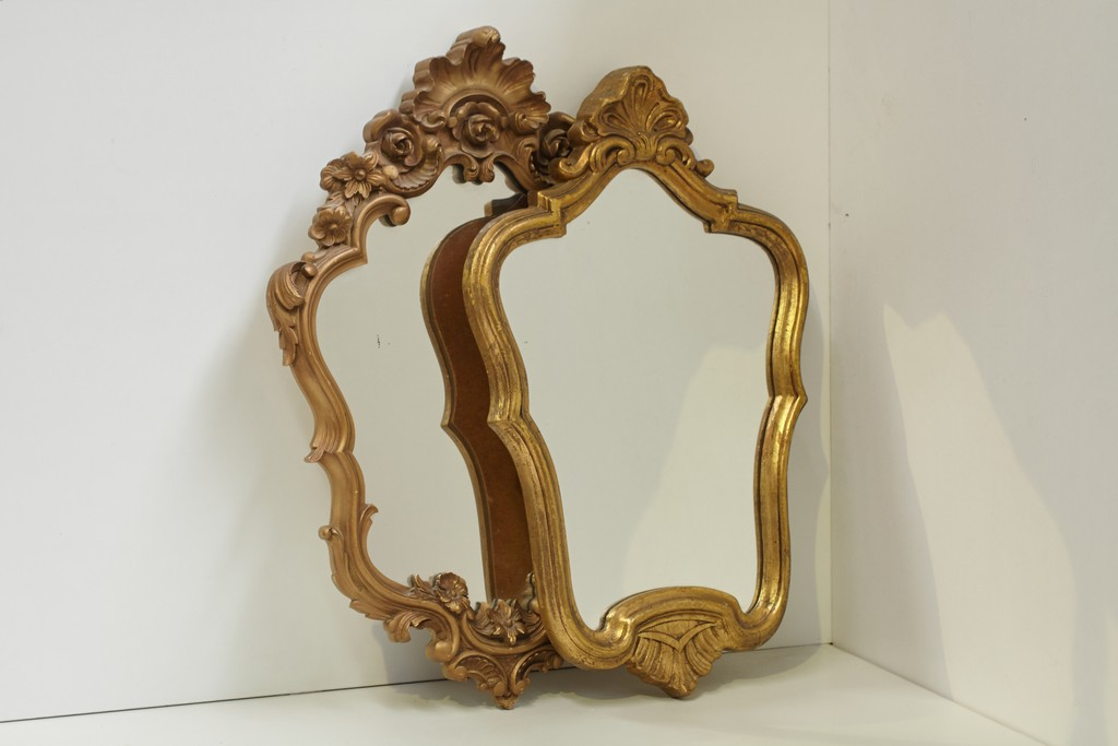 Vintage Spiegel Goud : Spiegel goud kringverhuur