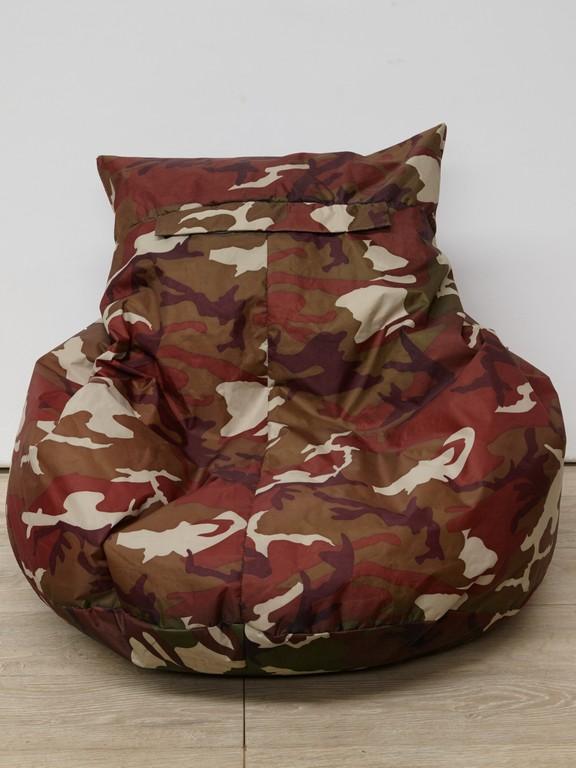 Fatboy Zitzak Camouflage.Zitzak Camouflage Kringverhuur